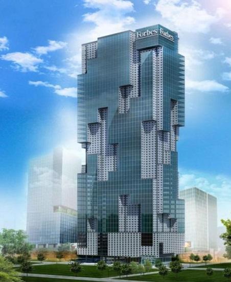Rendering of Forbes Media Tower