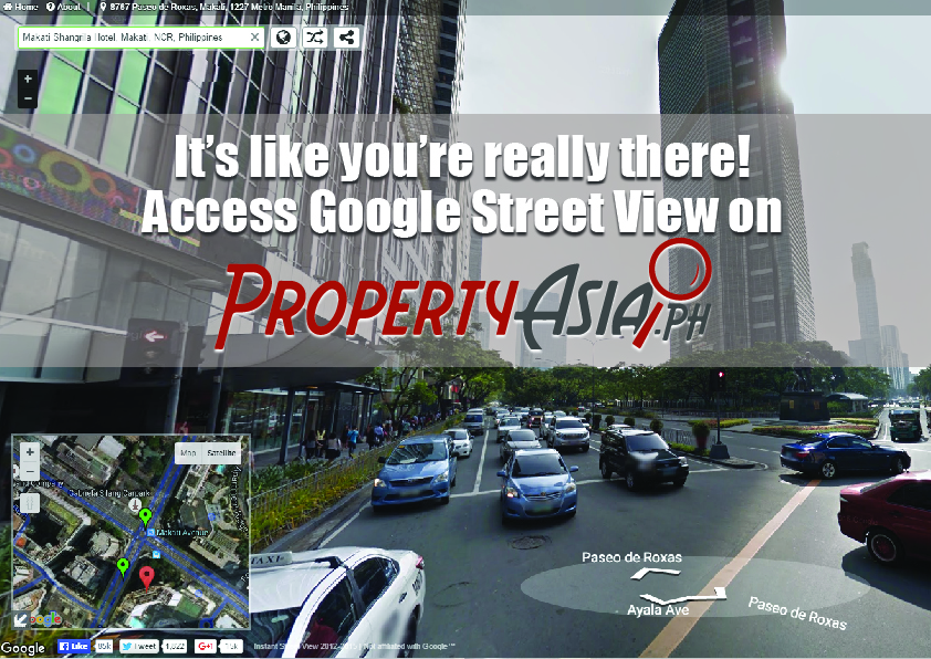 Google Street View ad for FB