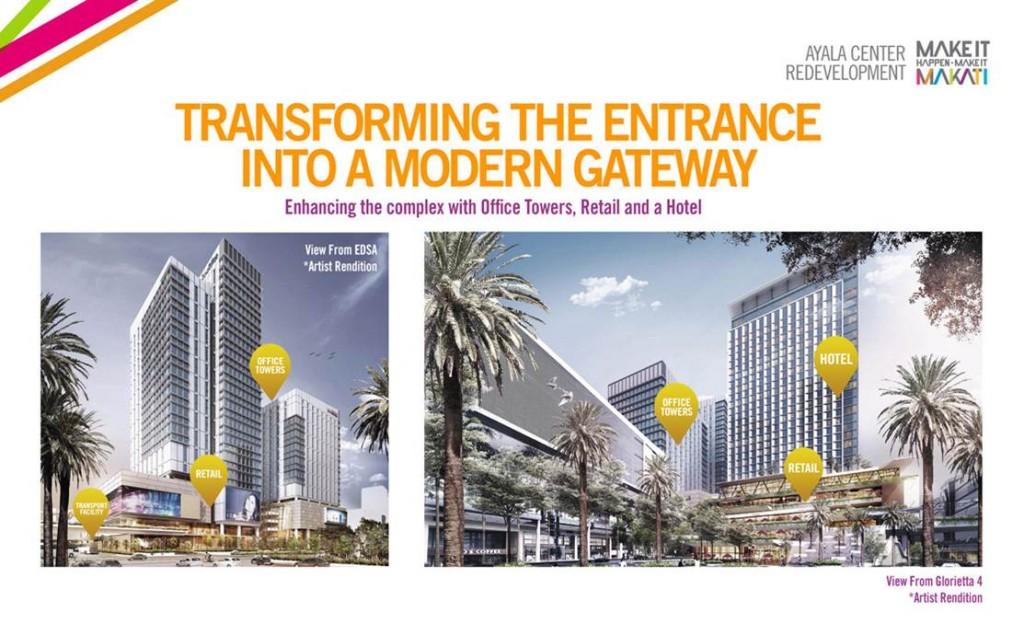 Ayala Center modern gateway plan