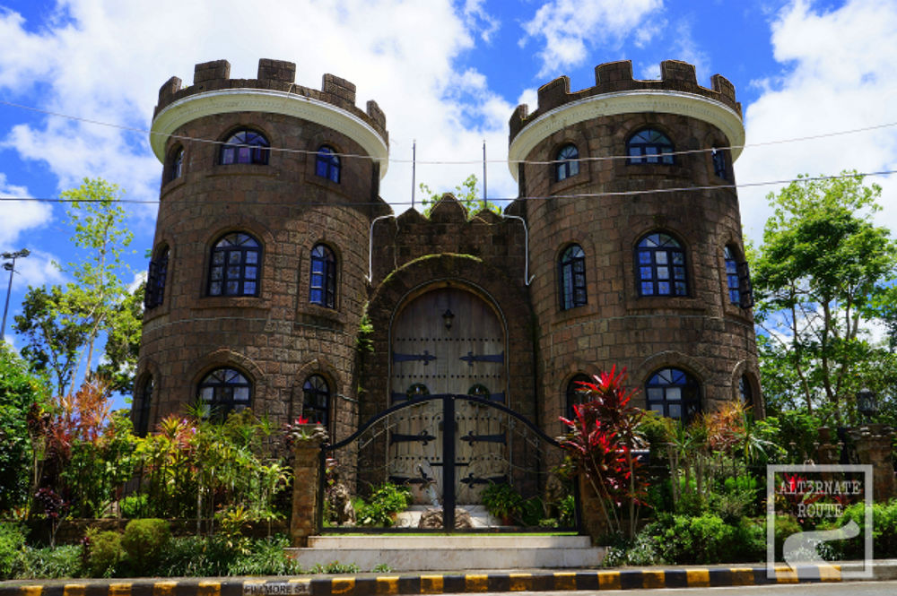 Discover some of the philippines odd shaped houses for Castle homes