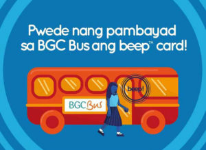 Besides the MRT Ride BGC Buses Using Your Beep Card