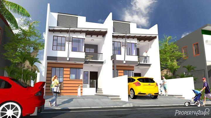 3 bedroom duplex house for sale in cainta philippines for for Duplex building cost estimator