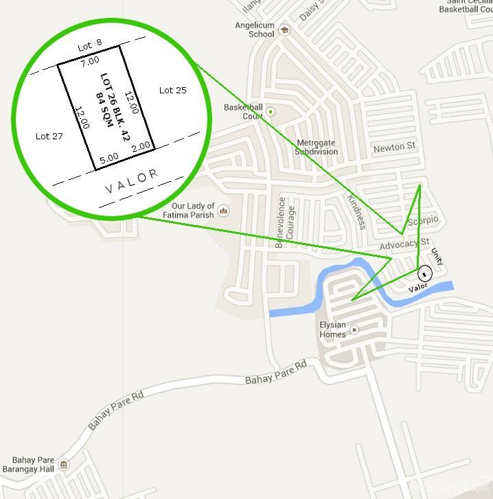 Sqm House And Lot Sale In Marilao Philippines For - Marilao map