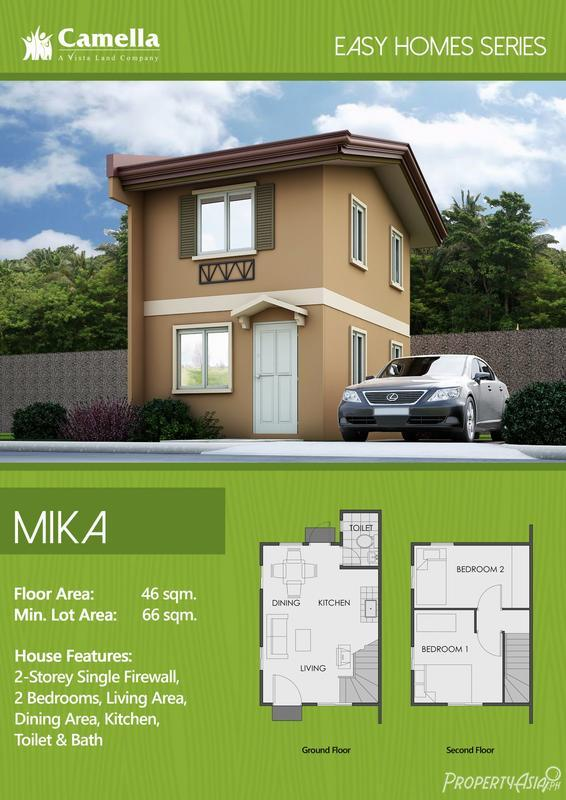 2 Bedroom Single Attached House For Sale In Angeles City