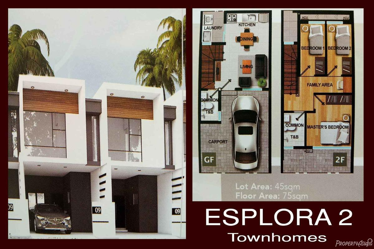 3 Bedroom Townhouse For Sale In Antipolo City
